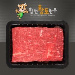 [육미담] 합천황토한우 양지 600g